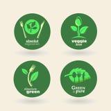 Bio - Ecology - Green - Natural - vegetarian Stock Images