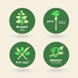 Bio - Ecology - Green - Natural - vegetarian Stock Photo