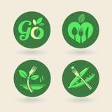 Bio - Ecology - Green - Natural - vegetarian Stock Photos