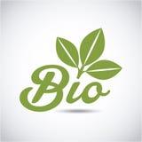 Bio emblem design Royalty Free Stock Photography