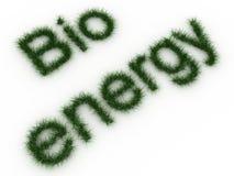 Bio energieteken royalty-vrije illustratie
