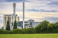 Bio energy plant close up Royalty Free Stock Images