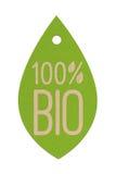 Bio- etichetta 2 fotografia stock