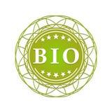 Bio etiqueta Foto de archivo libre de regalías