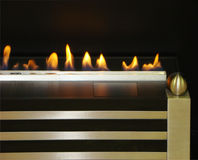 Bio Fireplace Stock Images