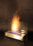 Bio fireplace Royalty Free Stock Photography