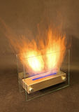 Bio fireplace. Isolated at studio Royalty Free Stock Photos