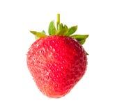 Bio fraise d'isolement Images stock