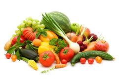 Bio fresh fruits Stock Photography