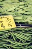 Bio fruit and vegetable farmer's market Stock Images