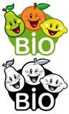 Bio Fruits Label Royalty Free Stock Photo