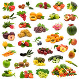 Bio fruits and vegetables Royalty Free Stock Images
