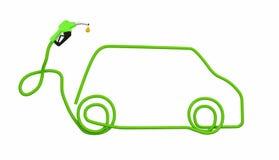 Bio fuel car Stock Images