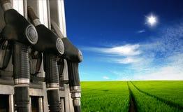 Bio fuel - clean energy Royalty Free Stock Photo