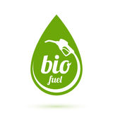 Bio fuel icon Royalty Free Stock Photography