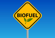 Bio fuel illustration Stock Images