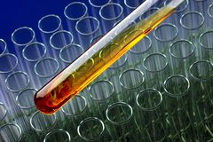 Bio Fuel lab Stock Images