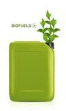 Bio galão do combustível Imagens de Stock