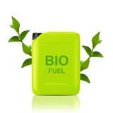 Bio galón del combustible Fotografía de archivo libre de regalías