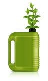 Bio- gallone del combustibile immagini stock