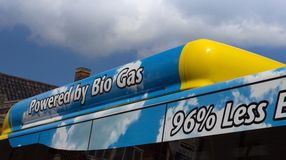 Bio Gas Bus Royalty Free Stock Photos