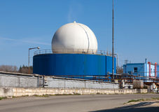 Bio gas plant Royalty Free Stock Photo