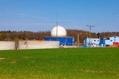 Bio gas plant Royalty Free Stock Image