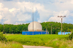 Bio gas plant Royalty Free Stock Photography