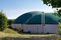 Bio gas plant Royalty Free Stock Photos