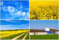 Bio gas production Royalty Free Stock Photos