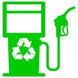 Bio gráfico del surtidor de gasolina Fotografía de archivo