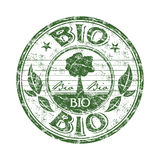 Bio grunge rubber stamp Royalty Free Stock Photos