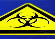 Bio Hazard! Royalty Free Stock Photos