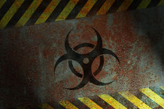 Bio_Hazard Sign Royalty Free Stock Photography
