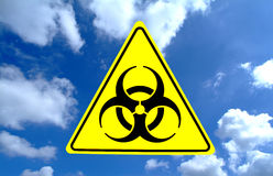 Bio-Hazard Sign Stock Images