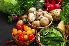 Bio healthy vegetables assortment Stock Photography