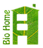 Bio Home. Stock Images