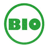 BIO icon Royalty Free Stock Image