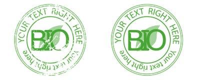 Bio icon logo. Vector illustration green leaf nature bio icon logo Stock Photo