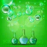 Bio infographics Stock Photography