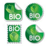 Bio label Royalty Free Stock Image