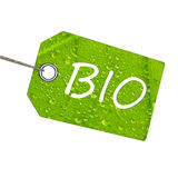Bio label Royalty Free Stock Photos