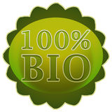 Bio label or badge Stock Photos