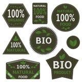Bio labels Stock Image