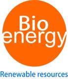 Bio- logo e desaign di energia Fotografie Stock Libere da Diritti