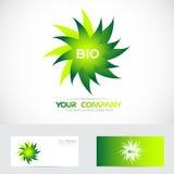 Bio logo Royalty Free Stock Image
