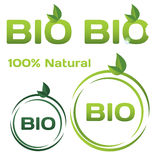 Bio logos Stock Photo
