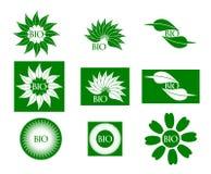 Bio logotipo Fotografia de Stock Royalty Free