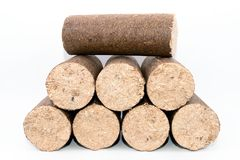 Bio Logs Stock Image