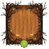 Bio madera del fondo Imágenes de archivo libres de regalías